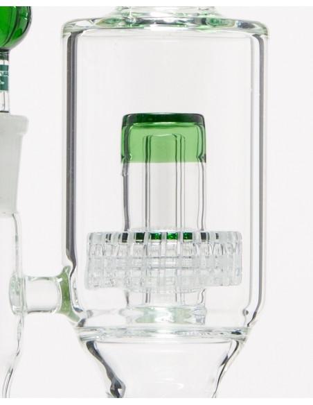 Bongo Grace Glass Nautilus ze szczelinowym perkolatorem wys. 30 cm szlif 18.8