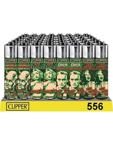 Zapalniczka Clipper wzór REEFER MADNESS