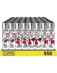 Zapalniczka Clipper wzór LOVE