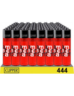 Zapalniczka Clipper wzór AMS-TER-DAM RED