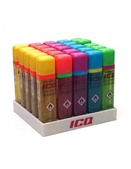 Gaz do zapalniczek marki ICQ z aplikatorem