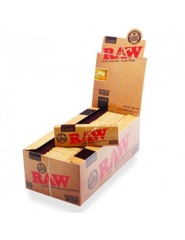 Bibułki RAW Single Wide Classic 32 szt.