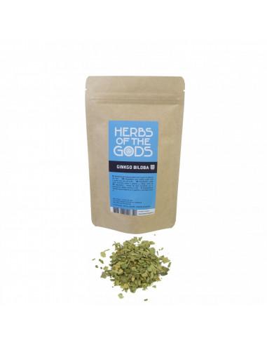 Ginkgo Biloba zioła Herbs of the Gods opakowanie 50 g