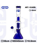 GG Bong Blue Spiralny Dyfuzor Grace glass 35 cm icebong