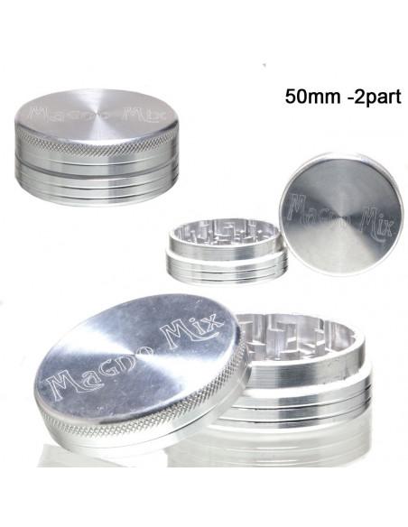 Młynek Grinder MAGNO MIX 2 częściowy aluminiowy 50mm