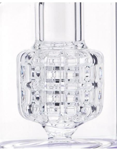 Bongo Grace Glass Indigo Matrix Limited Edition wys. 30 cm szlif 18.8