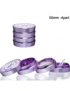 Młynek do ziół Magno Mix 4-częściowy fioletowy śr. 50 mm