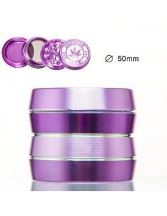 Obraz produktu: grinder amsterdam 4-częściowy fioletowy śr. 50 mm
