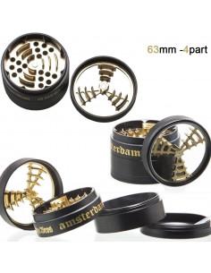 Obraz produktu: młynek do suszu dope bros 4-częściowy metalowy śr. 63 mm