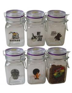 Juicy Jar Clear słoik bezzapachowy, schowek poj. 280 ml