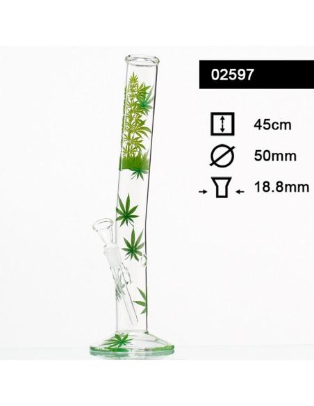 Bongo Leaf Jhari Hangover szlif 18.8 mm wys. 45 cm