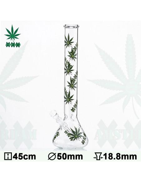 Bongo Green XXX Amsterdam Leaf wys. 45 cm szlif 18.8 mm