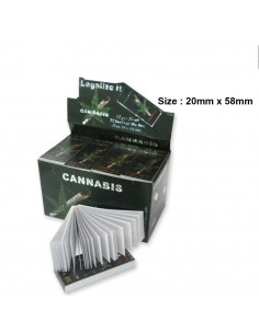 Cannabis joint filters SMALL 20/58 mm