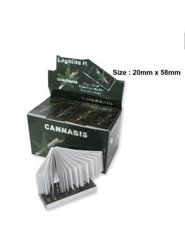 Filtry do jointów Cannabis MAŁE 20/58 mm