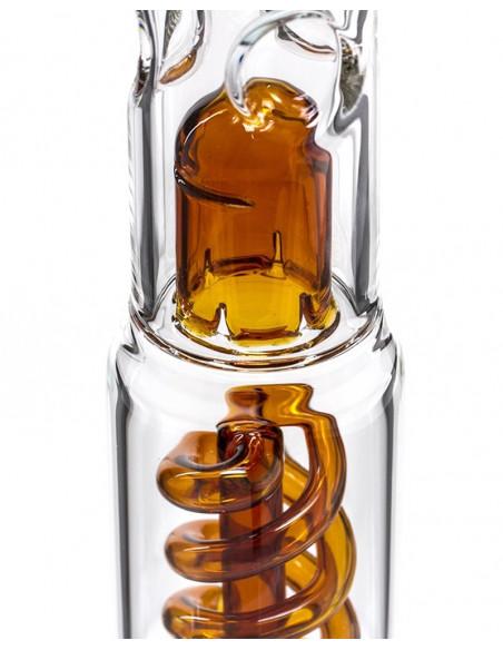 Bongo Grace Glass Fire Hit ze spiralnym perkolatorem wys.35 cm szlif 18.8 mm