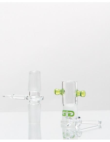 Unikatowe bongo Grace Glass Toxic Schroomz LIMITED EDITION wys. 30 cm szlif 18.8 mm