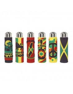 Zapalniczka Clipper wzór JAMAICA
