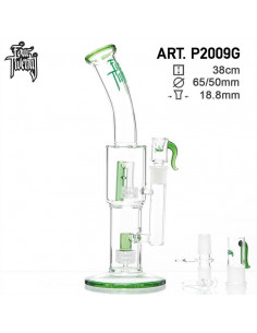 Obraz produktu: fourtwenty saxo bong- green- h:38cm ø:65/50mm sg:18.8mm - disc p