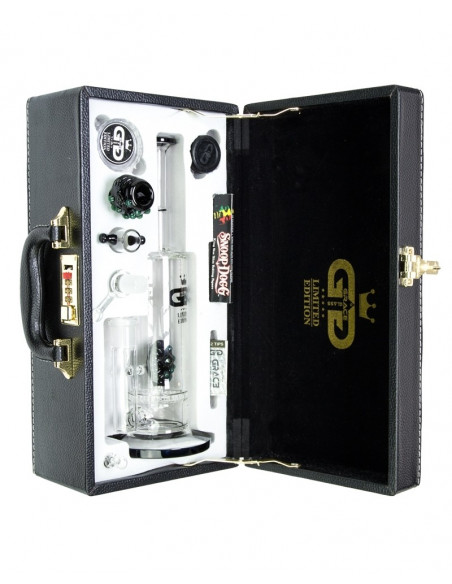 Bongo Grace Glass pakowane w walizce wys. 32 cm szlif 18.8 mm