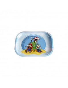 Tray for rolling Danktendo Mario and Luigi SMALL joints