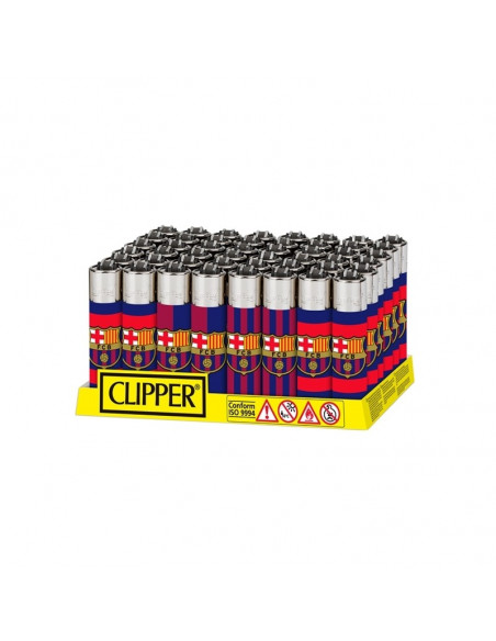 Zapalniczka Clipper wzór FC Barcelona Escudo!