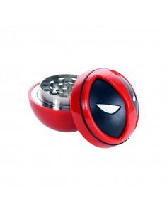 Młynek metalowy grinder do suszu Deadpool 3 częściowy