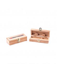 Drewniane pudełko I love Amsterdam SMALL