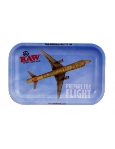 Obraz produktu: tacka do zwijania jointów raw flying duża