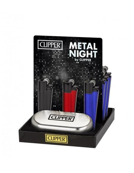Zapalniczka Clipper Night Flint Metal