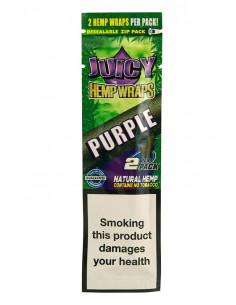 JUICY JAYS HEMP BLUNT WRAPS GRAPES winogronowe bibułki konopne jointy