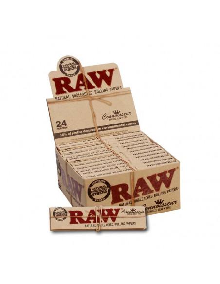 RAW Connoisseur King Size Slim bibułki