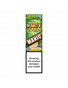 JUICY JAYS HEMP BLUNT WRAPS MANGO PAPAYA bibułki konopne jointy
