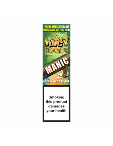JUICY JAYS HEMP BLUNT WRAPS MANGO PAPAYA bibułki konopne jointy
