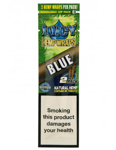 JUICY JAYS HEMP BLUNT WRAPS BLACK AND BLUEBERRY bibułki konopne jointy