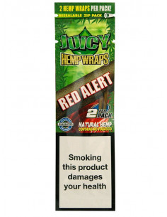 Bibułki JUICY JAYS Hemp Blunt Wraps RED ALERT