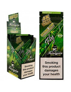 KINGPIN HEMP BLUNT WRAPS SPANISH FLY 4pcs. hemp tissue paper joints wrapping