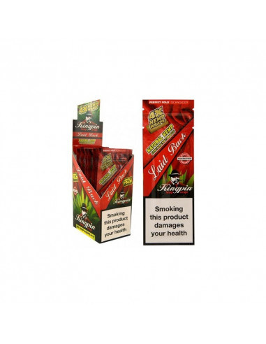 KINGPIN HEMP BLUNT WRAPS LAID BACK 4pcs. hemp tissue paper joints wrapping