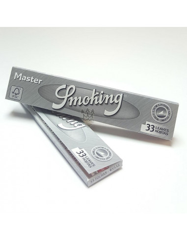 Bibułki Smoking King Size Silver 32 szt.
