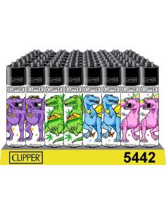 Zapalniczka Clipper wzór KITSCH DINOS