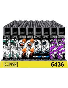 Zapalniczka Clipper wzór ASTRONAUT