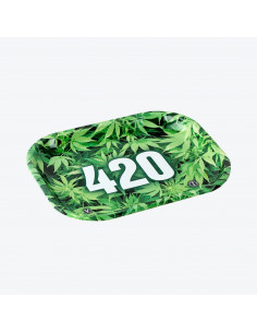 V-SYNDICATE 420 tacka do zwijania jointów rolling tray metalowa SMALL