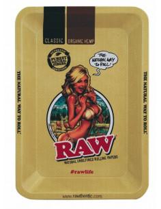 RAW Girl MINI rolling tray