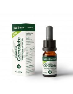 Olejek CBD/CBDa Medihemp 18 Complete z ekstrakcji CO2 10 ml