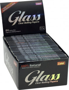 Glass Clear 1 and 1/4...