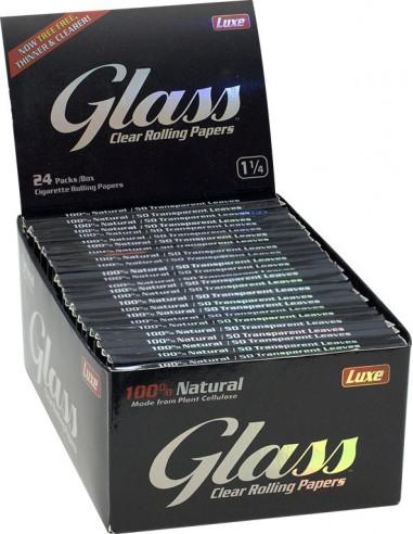 Bibułki Glass Clear 1i 1/4...