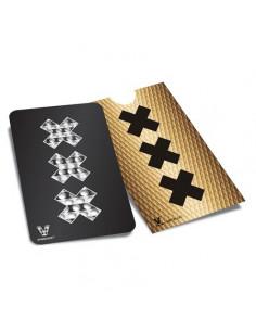 Obraz produktu: v syndicate amsterdam xxx black matte karta grinder tarka