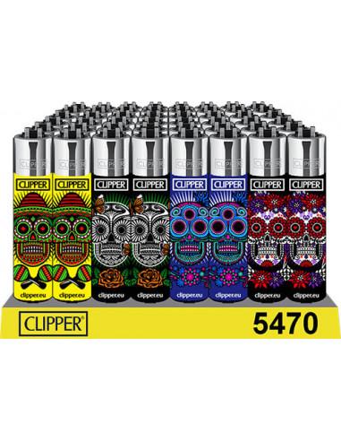 Zapalniczka Clipper wzór Mexican Skulls