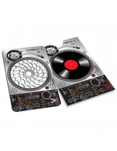 Karta grinder z funkcją tarki V-Syndicate wzór DJ DESIGN