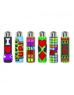 Clipper lighter with GAMES...