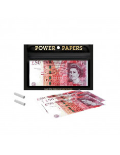 Tissues with the print £ 50...